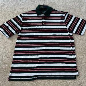 Polo style shirt.
